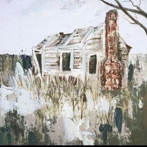 """12"""" x 12"""" Farmhouse Canvas Painted Wall Decor"""